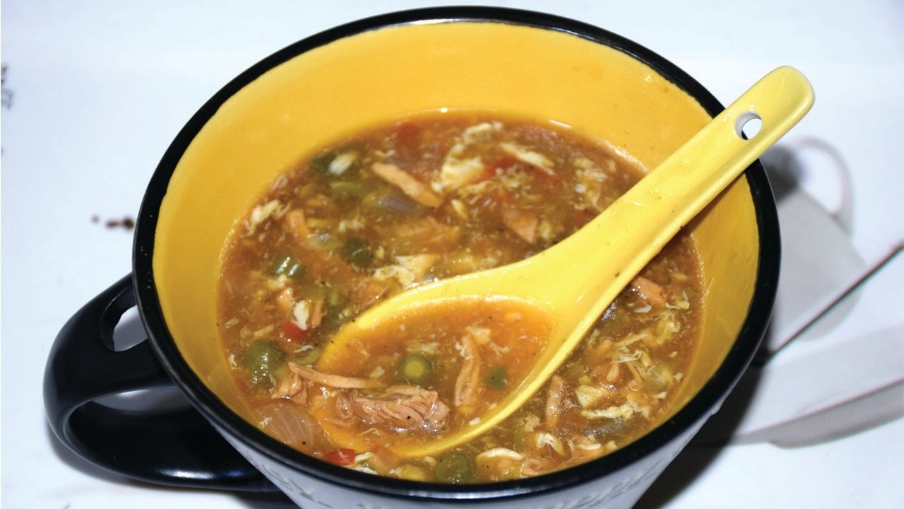 CHICKEN HOT N SOUR SOUP