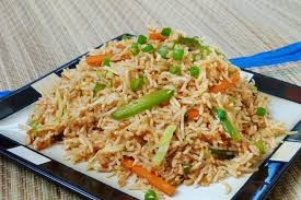 EGG SCHWEZWAN FRIED RICE