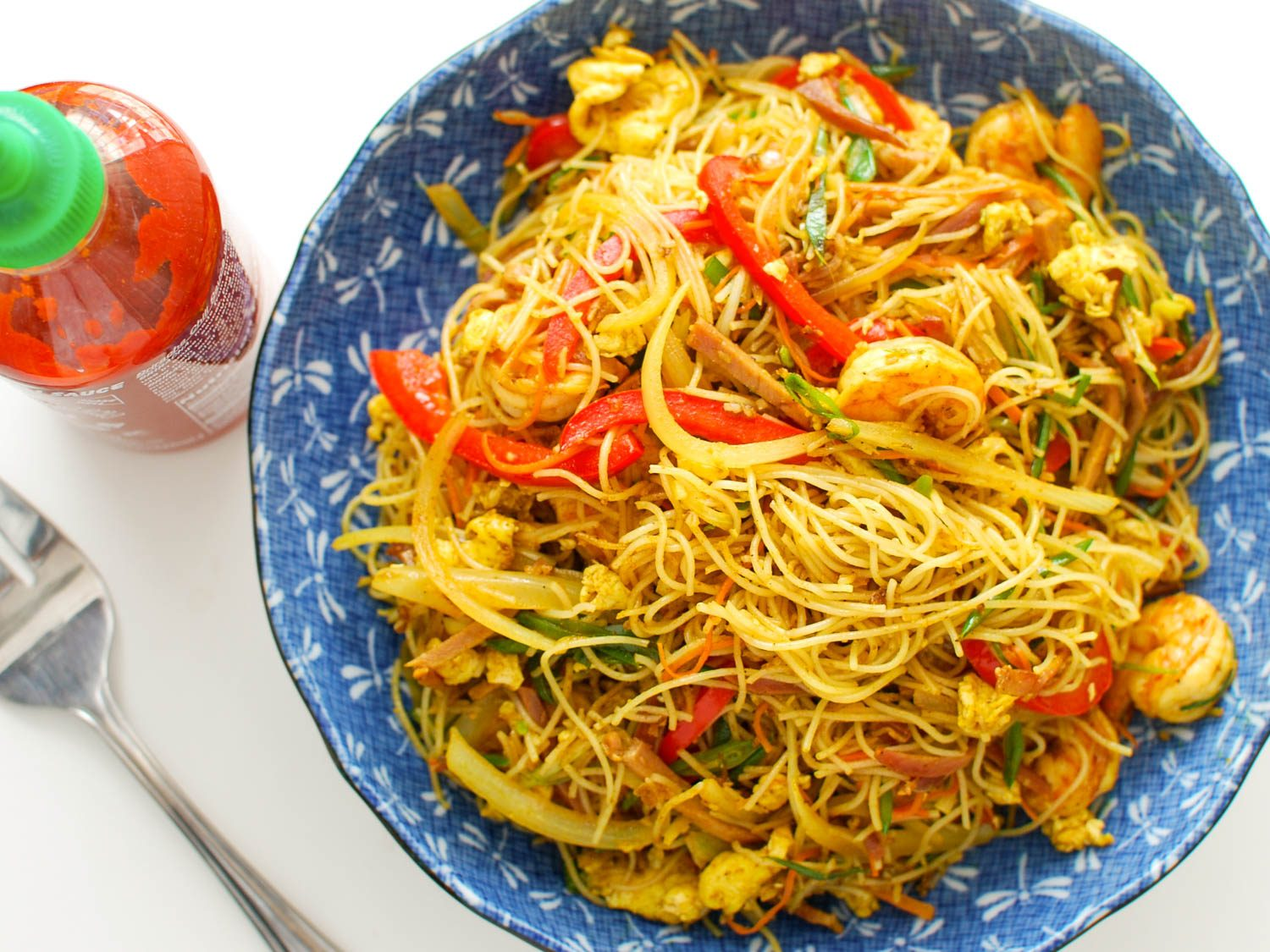 SINGAPORE MIXED NOODLES
