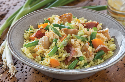 HONKONG CHICKEN FRIED RICE